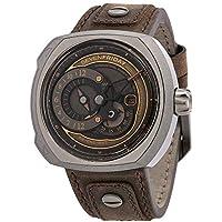 Sevenfriday Q-Series Automatic Brown Dial Men's Watch Q2/03