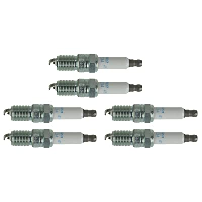 AC DELCO 41-993 Spark Plug 6 Piece Set Kit for Chevy GMC Van Truck 3.4L 4.3L V6: Automotive