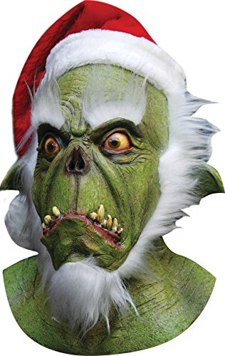 Green Santa Grinch Mask