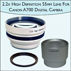 Amazon.com : 2.2x High Definition Telephoto Camera 55mm