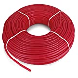Happybuy Oxygen O2 Barrier PEX Tubing - 1/2 Inch x 1000 Feet Tube Coil - Potable Water EVOH PEX-B Pipe for Residential Commercial Radiant Floor Heating Hot Cold Water Plumbing PEX Tubing (1000Ft)