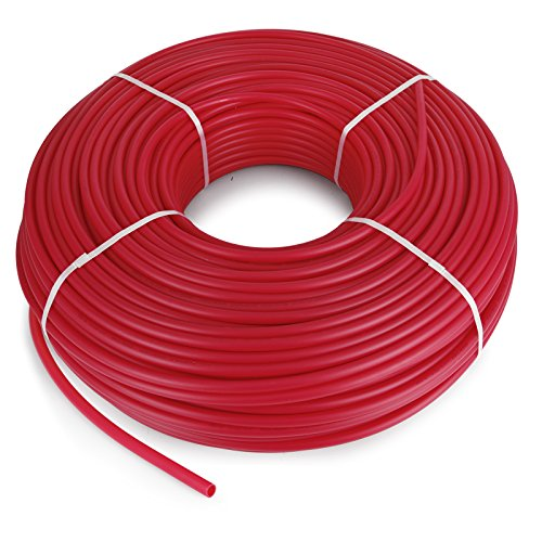 Happybuy Oxygen O2 Barrier PEX Tubing - 1/2 Inch x 1000 Feet Tube Coil - Potable Water EVOH PEX-B Pipe for Residential Commercial Radiant Floor Heating Pex Pipe (1/2