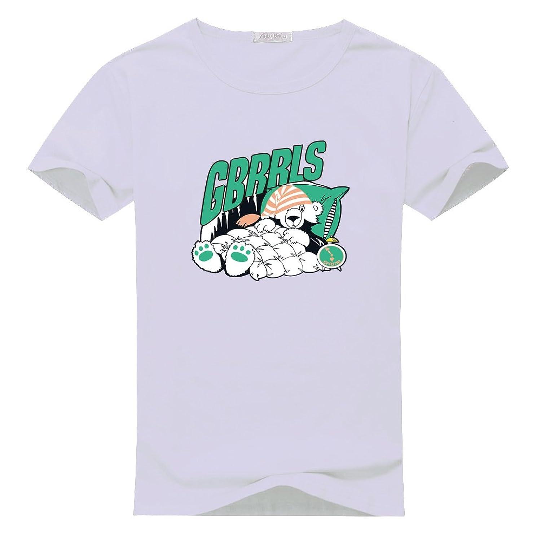 Zhihuan Li Polar Bear Logo Mens Short Sleeve T-shirts