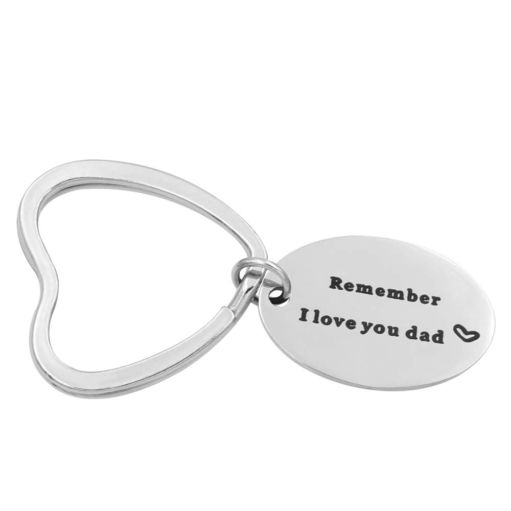 Fathers Day Gifts For Dad From Daughter Remember I Love You Dad Keychain Birthday Gifts