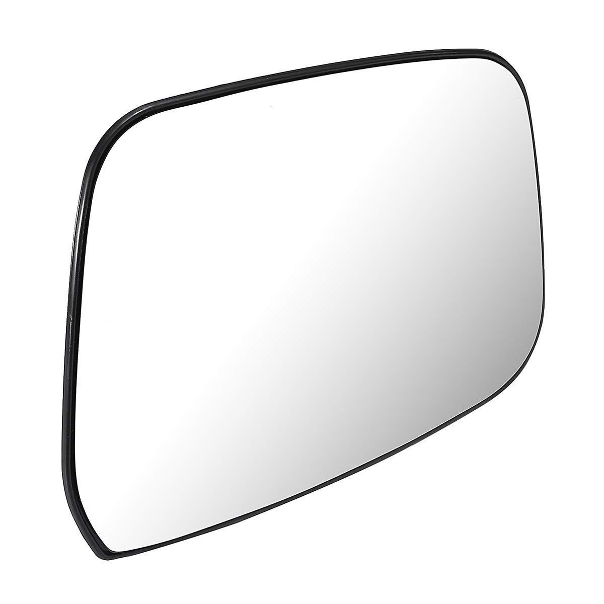 SODIAL 1Pair Left+Right Electric Wing Door Heated Mirror Glass For Navara D40 2005 2006 2007 2008 2009 2010 2011 2012 2013-2015