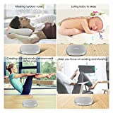 White Noise Machine, TIMIN Portable Sleep Therapy Sound Machine with Timer, Memory Function and 20 Soothing Natural Sounds - Ocean Wave,Rain,Birds,Fan and Campfire for Adult, Kids, Baby or Travel