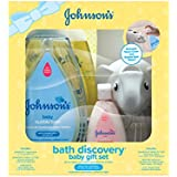 Johnson's Bath Discovery Baby Gift Set for Parents-to-Be...