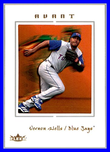 2003 Fleer Avant #64 Vernon Wells TORONTO BLUE JAYS