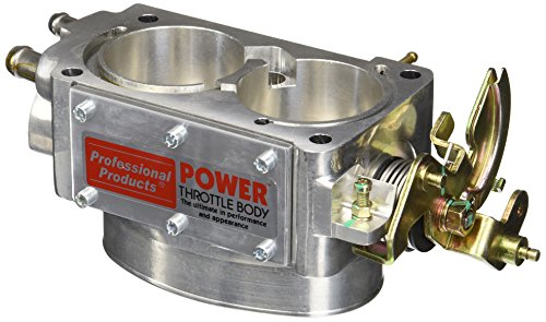 Professional Throttle Body (Professional Products (69706) 58mm Polished Throttle Body for Small Block Chevy)