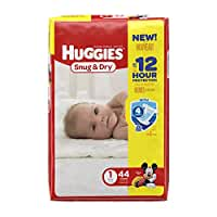 Huggies Snug & Dry Size 1 (44 count/8-14 pounds )
