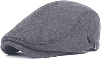Beret Hats for Women Autumn Fashion Wool Ladies Cotton Middle-Aged Simple Forward Cap Mens Keep Warm
