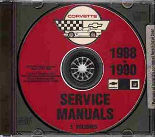 Read Online COMPLETE 1988 1989 1990 CORVETTE FACTORY REPAIR SHOP & SERVICE MANUAL CD - INCLUDES; 1988 35th Anniversary Edition Hatchback, '88-'89-'90 Convertible, '88, '89, '90 Hatchback & '90 ZR-1 Hatchback pdf epub