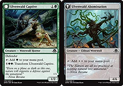 Amazon.com: Magic: the Gathering - Ulvenwald Captive ...