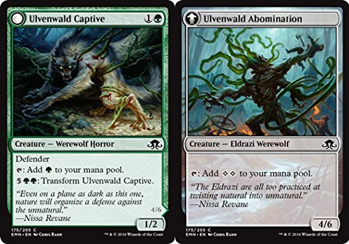 Magic: the Gathering - Ulvenwald Captive // Ulvenwald Abomination - Eldritch Moon