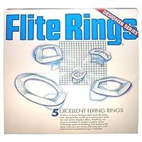 Anillos Flite - 5 anillos: Pentágono, Toroide, Diamante, Trapezoide, Media Luna
