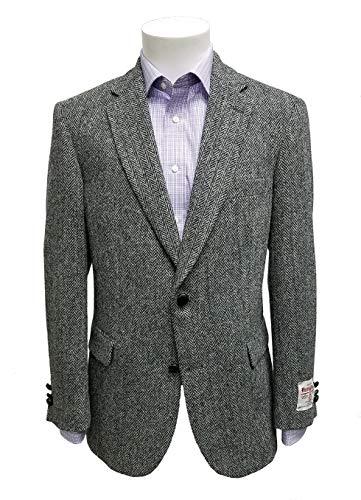Jean-Paul Germain Harris Tweed Herringbone Sportcoat ()