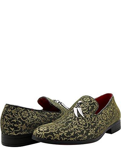 Faranzi - Fashion Mens Loafer Pweter