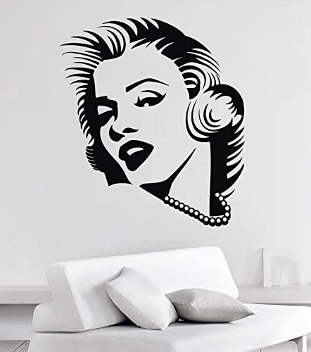 Marylin Monroe Wall Art Vinyl Sticker Decal Home Mural Decor1