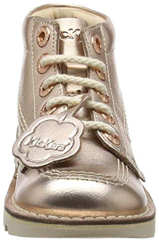 Kickers Mädchen Kick Hi Stiefeletten Pink (Rose Gold)
