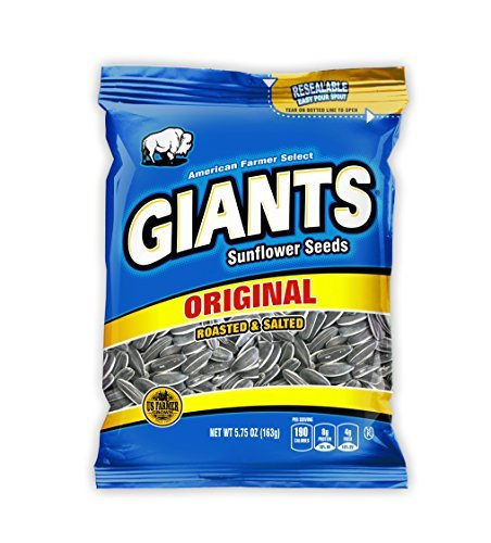 GIANTS Salted Sunflower Seeds