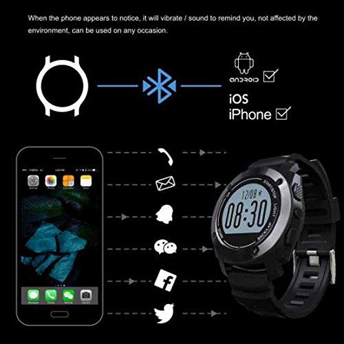 OLED Smart Reloj de pulsera bluetooth Fitness Tracker - Podómetro inteligente reloj deportivo, dormir supervisión, podómetro, tensiómetro, fitness pulsera, ...