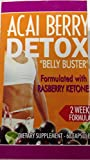 """Acai Berry Detox """"Belly Buster"""" Dietary Supplement – 60 Capsules"""