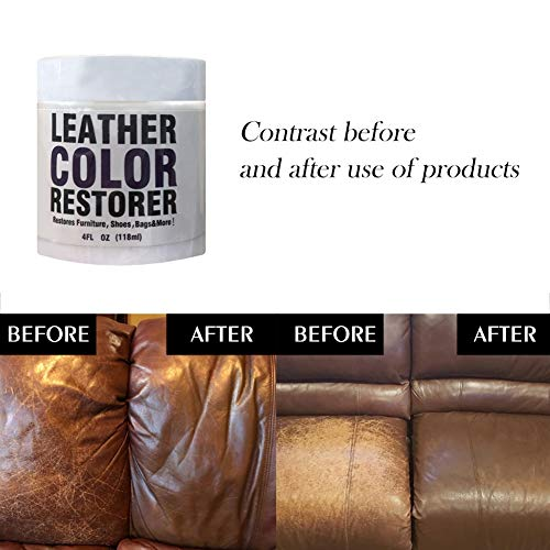 Homemust 110g Leather Color Restorer for Leather Sofas, Chairs, Auto Car Seats, Shoes: Amazon.co.uk: Kitchen & Home