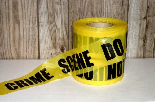 (Yellow Crime Scene Tape 1000 Ft (Pack of)