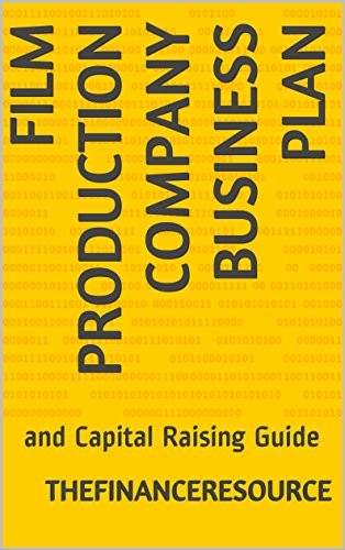 AmazonCom Film Production Company Business Plan And Capital