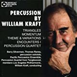 Percussion: Triangles, Momentum. Theme & Variations, Encounters I, Percussion Quartet