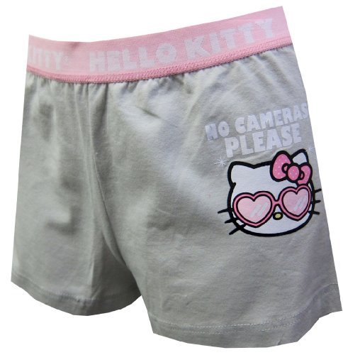Hello Kitty Disguise No Cameras Please Pajama Shorts for women (X-Large)