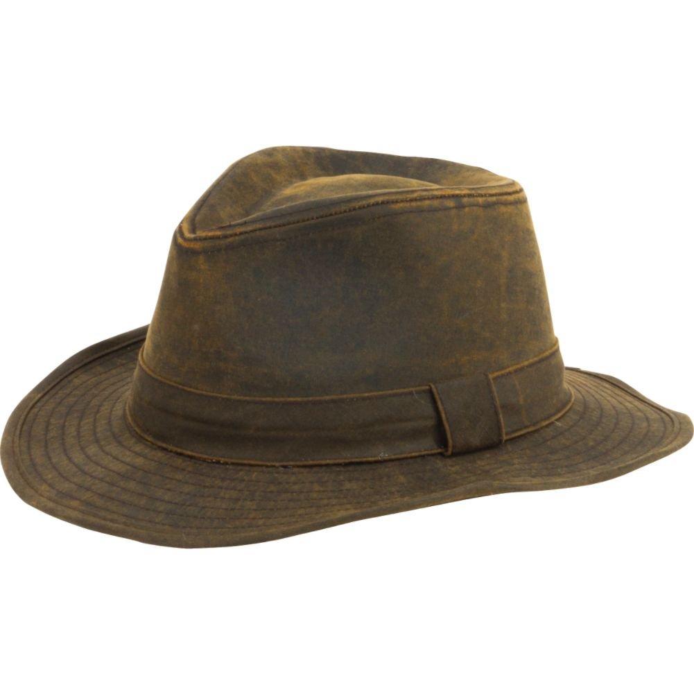 dbb1b2943 San Diego Hat Company Men's Distressed Hat O/S BROWN at Amazon Men's ...