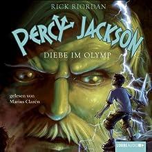 Diebe im Olymp (Percy Jackson 1) Hörbuch von Rick Riordan Gesprochen von: Marius Clarén