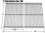 gas grill grates - Relishfire Stainless Steel Cooking Grid, Replacement for Select Gas Grill Models By Char-Broil, Brinkmann, Charmglow, Broil-Mate, Grill Pro, Grill Zone, Sterling, Turbo, Grill Chef and Others
