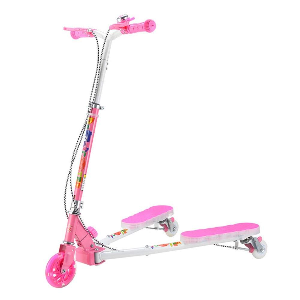 最前線の Bert100 pink 子供用三輪スクーター B07QVKKZZ8、漫画スクーター、クリエイティブスクーター、ミュージックフラッシュスクーター付き うまく設計された Bert100 ( Color : Pure pink ) B07QVKKZZ8, フィッシングカンパイ:10d27500 --- svecha37.ru