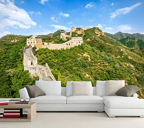 Cheap  Yosot Custom 3D Murals The Great Wall of China Beijing Stairs Grass..