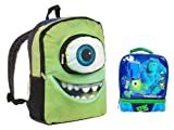 Monsters University Mike Backpack & Dual Compartment Lunch Tote