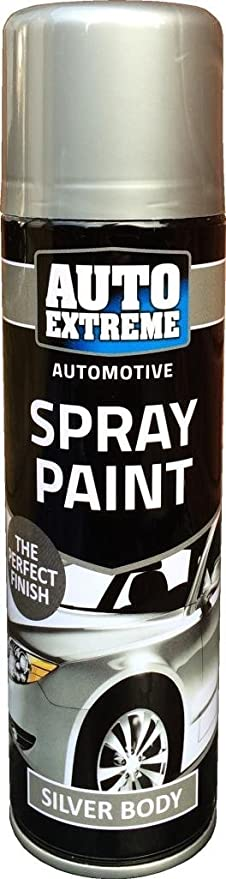 250 ml Auto Spray de pintura plata 1911 bicicleta para coche hogar ...