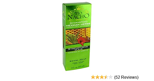 Amazon.com : Tio Nacho Mexican Herbs Shampoo 415ml : Hair Shampoos : Beauty