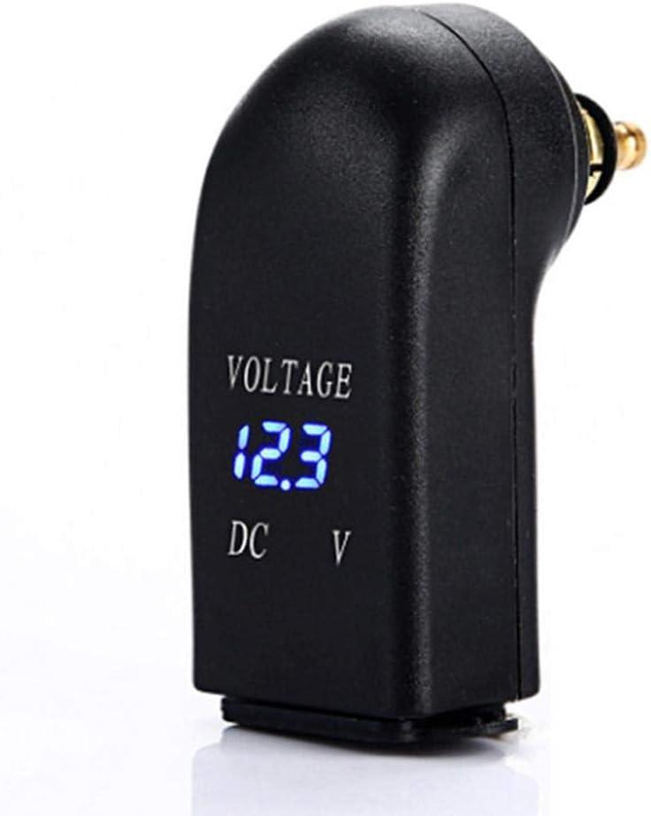 Teabelle Adaptador de Corriente del Cargador USB Doble para Motocicleta Socket 12-24V 4.8A Ajuste para F800GS F650GS F700GS R1200GS R1200RT Azul