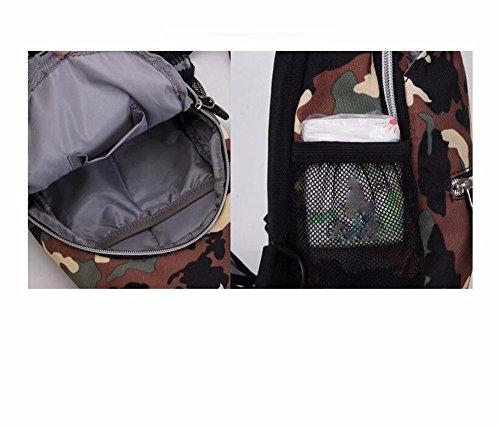zaino esterno e sacchetto A2 Xxszkaa di 9 A1 16 digitale Uomini 5 del pacchetto borsa camuffamento donne sportiva obliqua cm spalla archiviazione singolo 36 pacchetto camuffamento wxIACqEXC