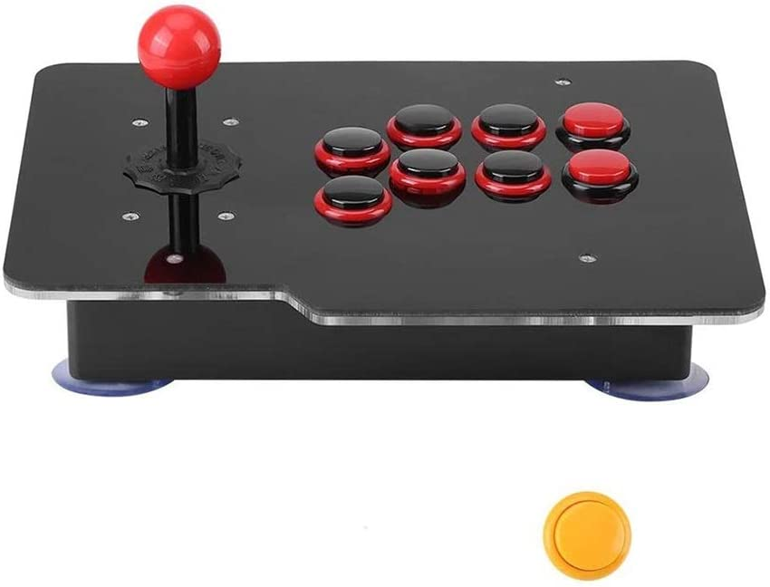 DSED Lucha Arcade Stick, Que Lucha con Cable USB Joystick Joystick Drone Lucha contra el Palo regulador del Juego Fightstick Stick USB for PS3 PS4 Xbox One PC