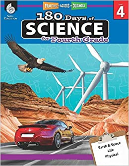 Amazoncom 180 Days Of Science For Fourth Grade Daily Science