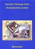 Musikalisches Lexikon Frankfurt/Main 1802
