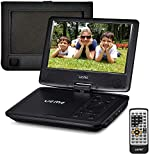 UEME Portable DVD Player with 9 inches Swivel Screen, Car Headrest