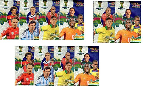 10 (Ten) Packs of Panini FIFA World Cup Soccer 2014 Brazil Adrenalyn XL (10 Pack Lot)