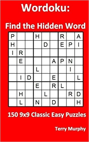 Wordoku Find The Hidden Word 150 9x9 Classic Easy Puzzles Terry