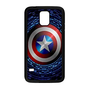 Designed With Caption Amereca Pattern , Fit To Samsung Galaxy S5