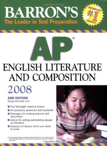 Barron's AP English Literature and Composition 2008
