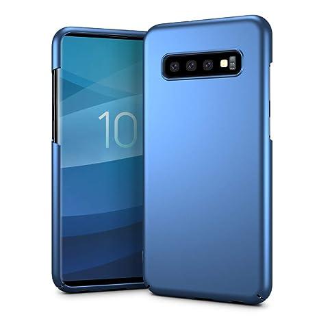 SLEO Funda para Samsung Galaxy S10 Plus PC Rígido Carcasa Back Cover [Ultra Delgado] [Ligera] Mate Anti-arañazos y Parachoques Duro Cubierta ...